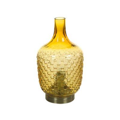 Lámpara de cristal ámbar - Imagen 1