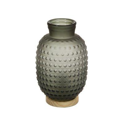 Lámpara de cristal gris - Imagen 1