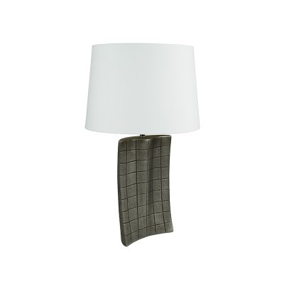 Lámpara plata antigua - Imagen 1