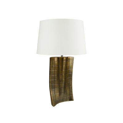 Lámpara oro antiguo - Imagen 1