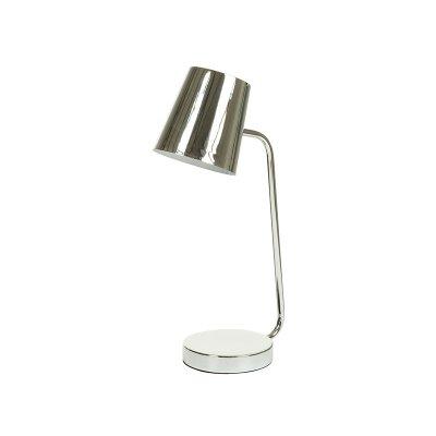 Lamp. metal cromada - Imagen 1
