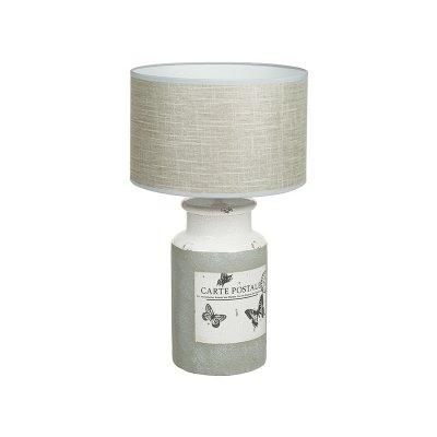Lámp. cerámica mariposas - Imagen 1