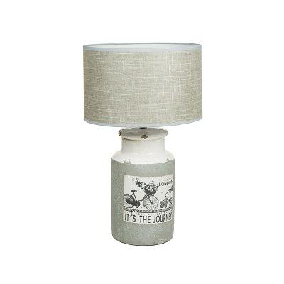 Lámp. cerámica bici - Imagen 1