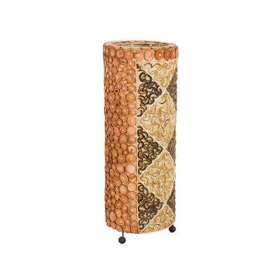 Lamp.madera bambú - Imagen 1