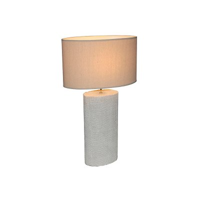 Lámpara crema  cerámica - Imagen 1