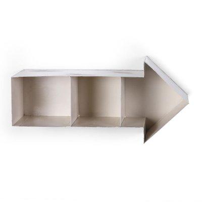 Estantería Arrow Metal Blanco Puro - Imagen 1