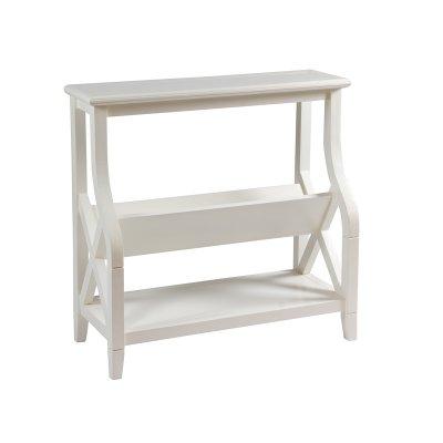 Mueble revistero color blanco - Imagen 1