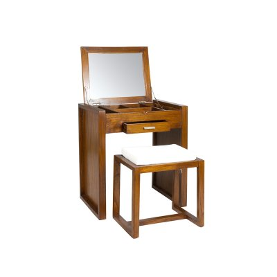 Mueble neceser con banqueta - Imagen 1
