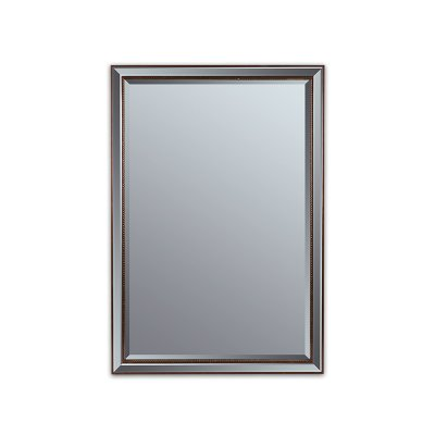 Espejo bronce antiguo - Imagen 1