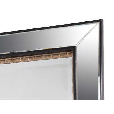 Espejo negro oro antiguo - Imagen 1