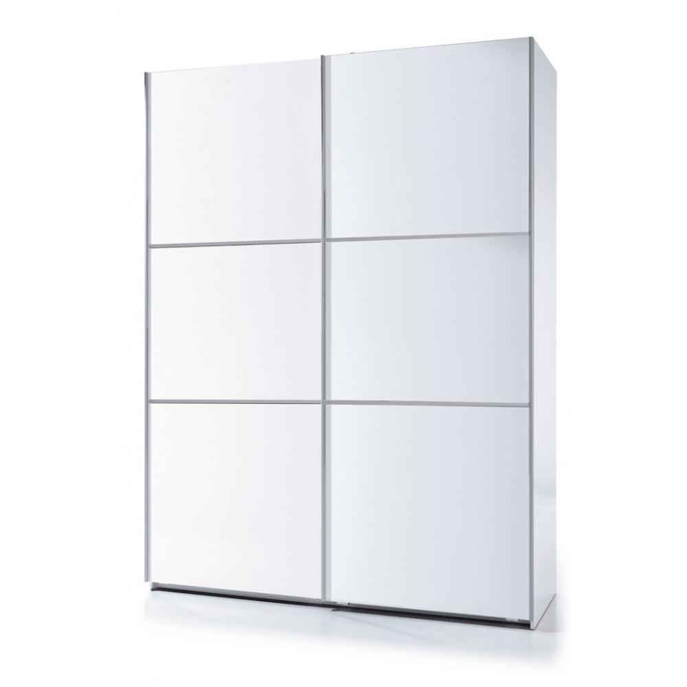 armario 2 puertas correderas 150 color blanco mobelfy