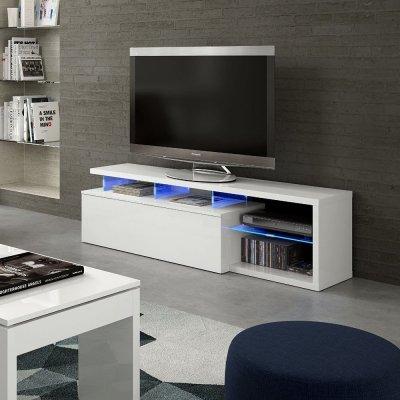 Mueble TV Blue-Tech Blanco - Imagen 1
