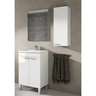Mueble Lavabo Blanco + Espejo Koncept Blanco Brillo - Imagen 1
