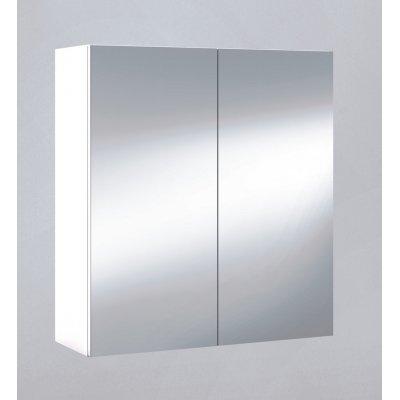 Camerino de 60 en color blanco brillo con Espejo modelo K60 - Imagen 1