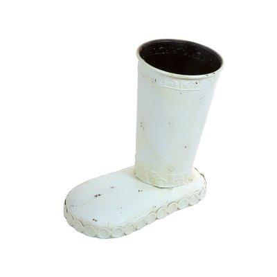 Paraguero bota blanco - Imagen 1