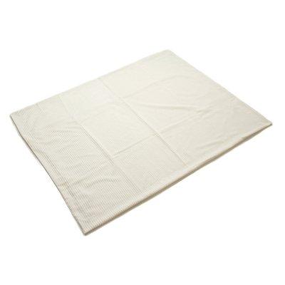 Manta de pana polar color blan - Imagen 1