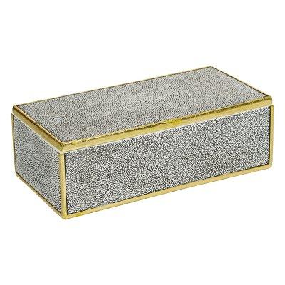 Caja c/t perla oro - Imagen 1