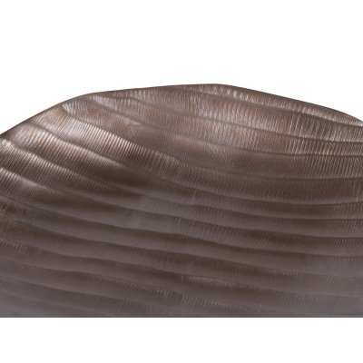 Centro redondo bronce - Imagen 1