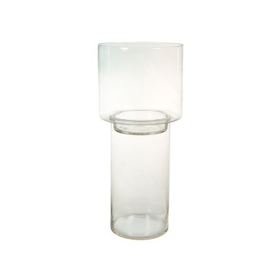 Portavelas de cristal - Imagen 1