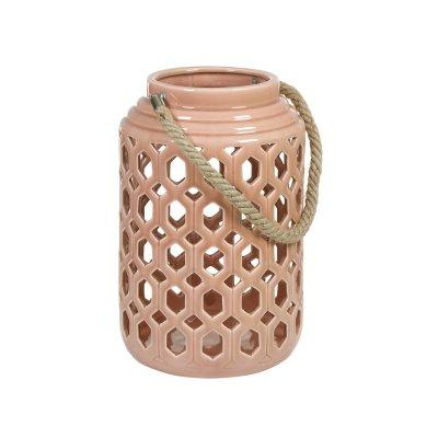 Farol de cerámica con asas - Imagen 1