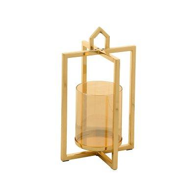 Candelabro dorado - Imagen 1