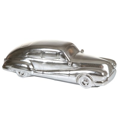 Figura coche plata - Imagen 1