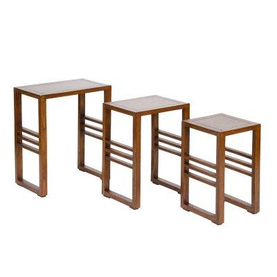 Conjunto de 3 mesas nido - Imagen 1
