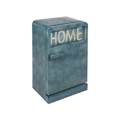 Mueble metal vintage azul - Imagen 1