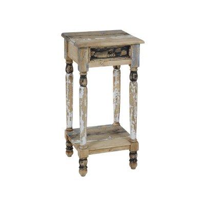 Pedestal 1 cajón decapado - Imagen 1