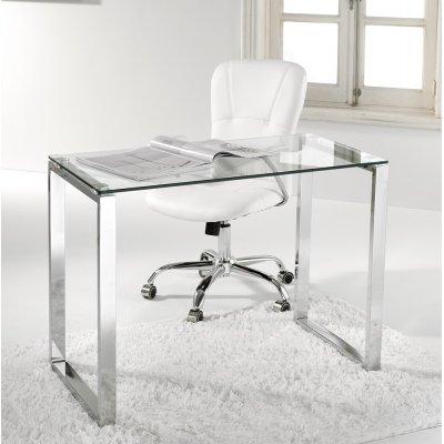 Mesa Ordenador Cristal Modelo Benetto - Imagen 1