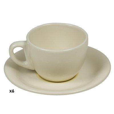 Jgos. 6 tazas cafe Espiral mos - Imagen 1