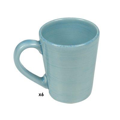 Jgo. 6 tazas Mare azul - Imagen 1