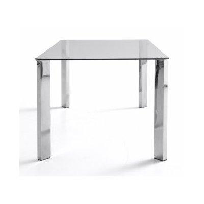 Mesa Oficina Patas Cromadas Modelo Zenda - Varias Medidas | Mobelfy