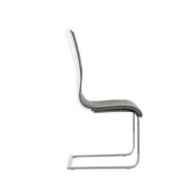 Silla Comedor Coruña Diseño Acero y Blanco - Imagen 13