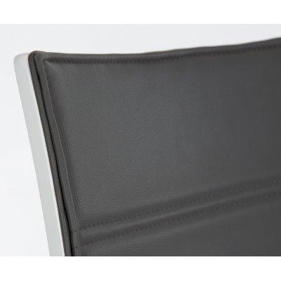Silla Comedor Coruña Diseño Acero y Blanco - Imagen 14