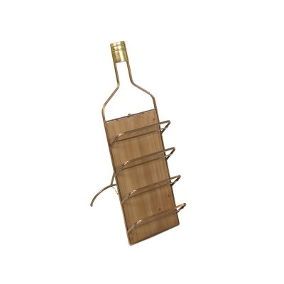 Botellero de pared metal - Imagen 1