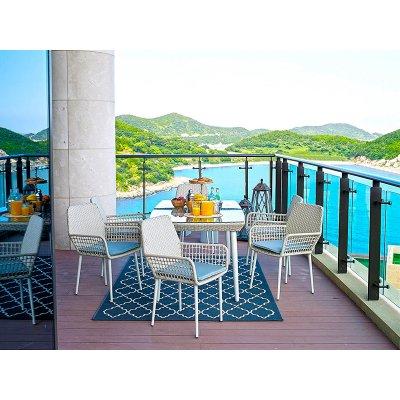 Set mesa + 6 sillas jardin - Imagen 1