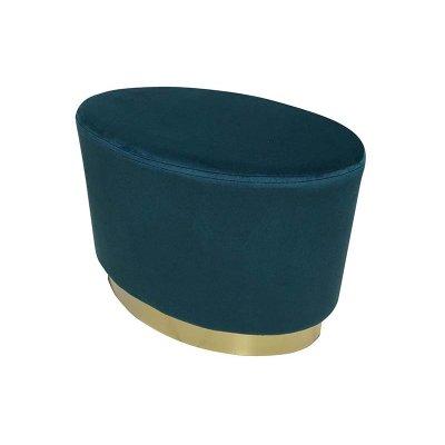 Taburete oro y azul - Imagen 1