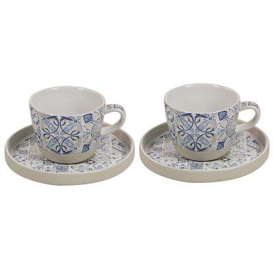 Jgo. 2 tazas azul Casadecor - Imagen 1