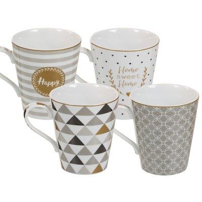Jgo. 4 tazas coffe - Imagen 1