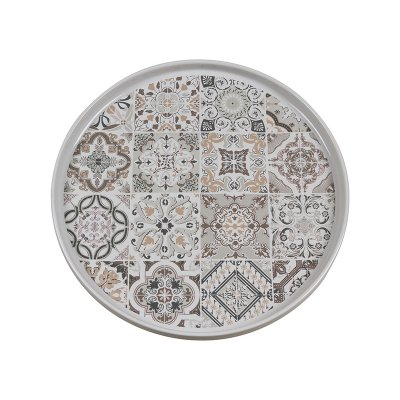 Plato llano gris Casadecor - Imagen 1