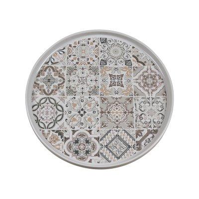 Plato postre gris Casadecor - Imagen 1