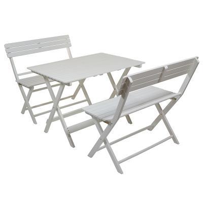 Conjunto jardín mesa +2 bancos - Imagen 1