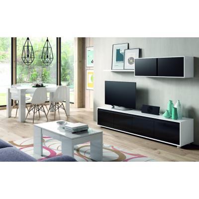 Conjunto Salón Modelo Home Basic Black - Imagen 1