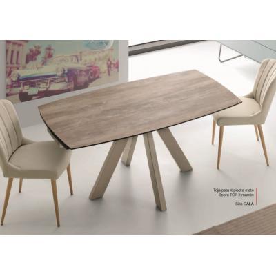 Mesa Comedor Extensible Modelo Toja Top 2 - Distintos Colores Acabado - Imagen 1