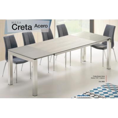 Mesa Comedor Extensible Modelo Creta - Múltiples Opciones - Imagen 1