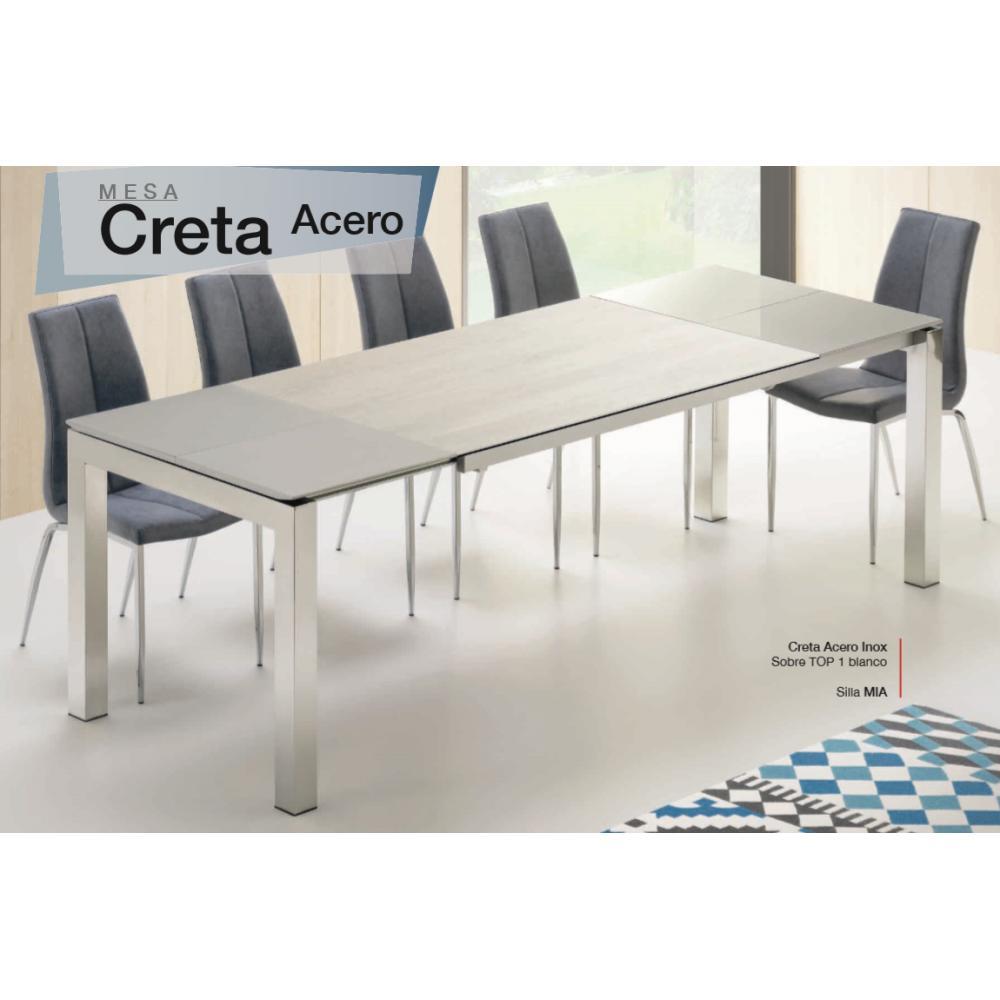 Mesa Comedor Extensible Modelo Creta - Múltiples Opciones | Mobelfy