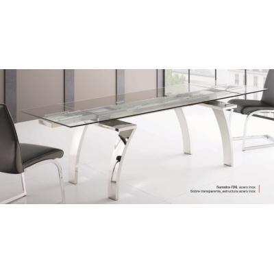 Mesa Comedor Extesible Modelo Sumatra ITAL - Imagen 1