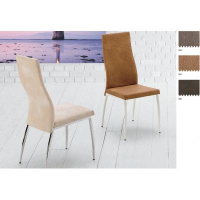 Silla Comedor Modelo Vera - 25 Tejidos Distintos - 4 Colores Estructura - Imagen 1