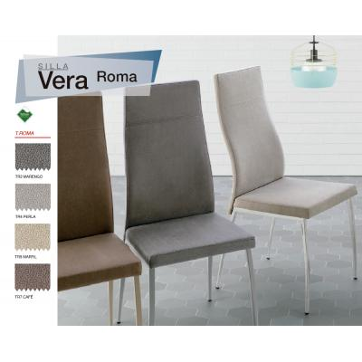 Silla Comedor Modelo Vera - 25 Tejidos Distintos - 4 Colores ...